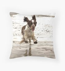 Charlie The Springer! Throw Pillow