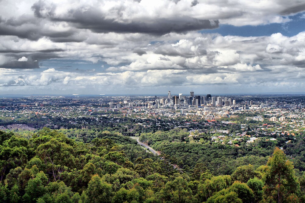 Brisbane Spread - HDR by Sonja Wells