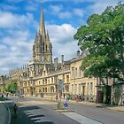 The Sunny Side of the Street - Oxford UK by TonyCrehan