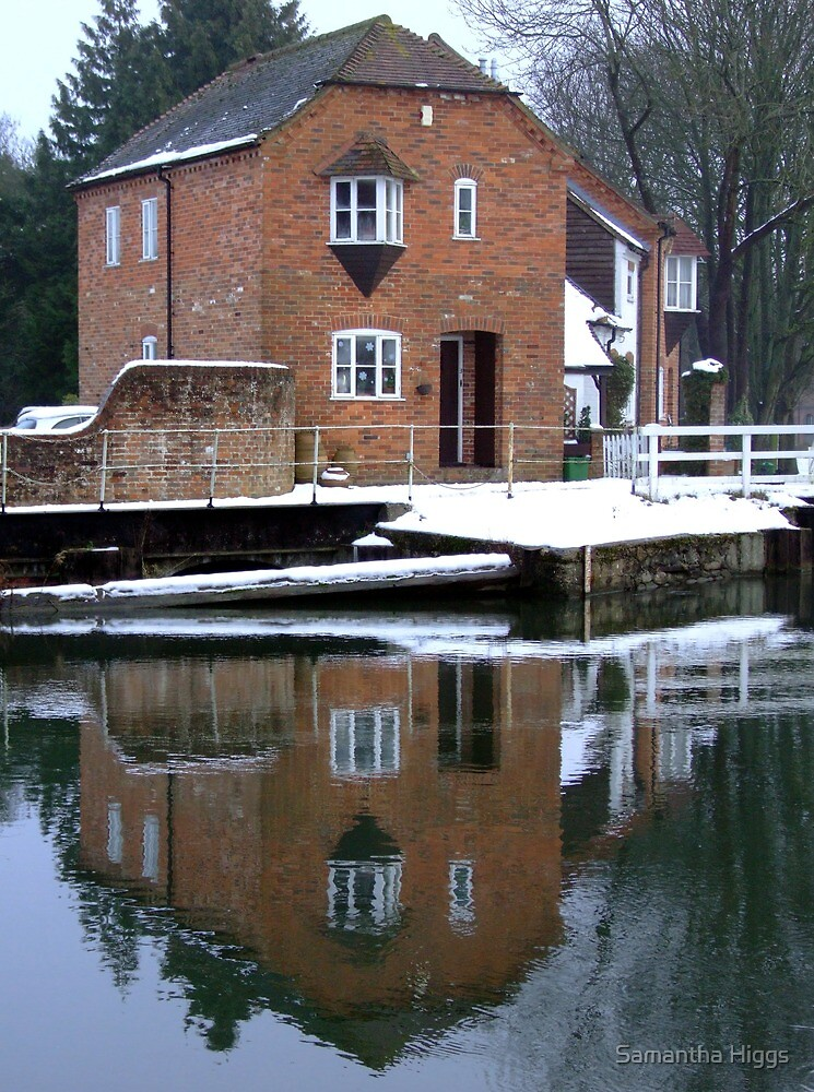 Reflections - Kennet and Avon Canal by Samantha Higgs