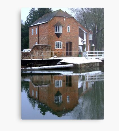 Reflections - Kennet and Avon Canal Metal Print