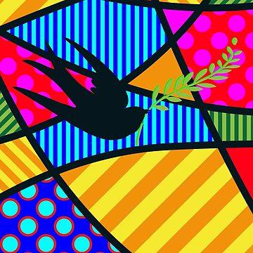 Lucky Swallow by Art-Frankenberg