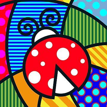 Lucky Ladybug by Art-Frankenberg