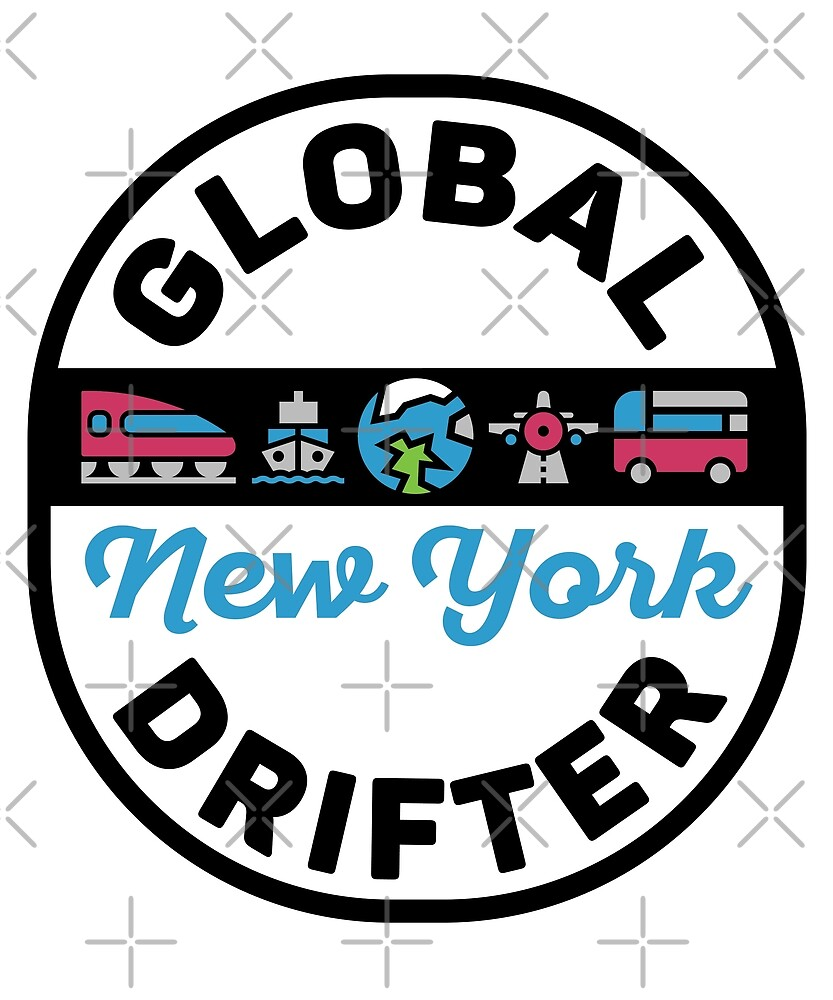 New York United States Global Drifter by designkitsch
