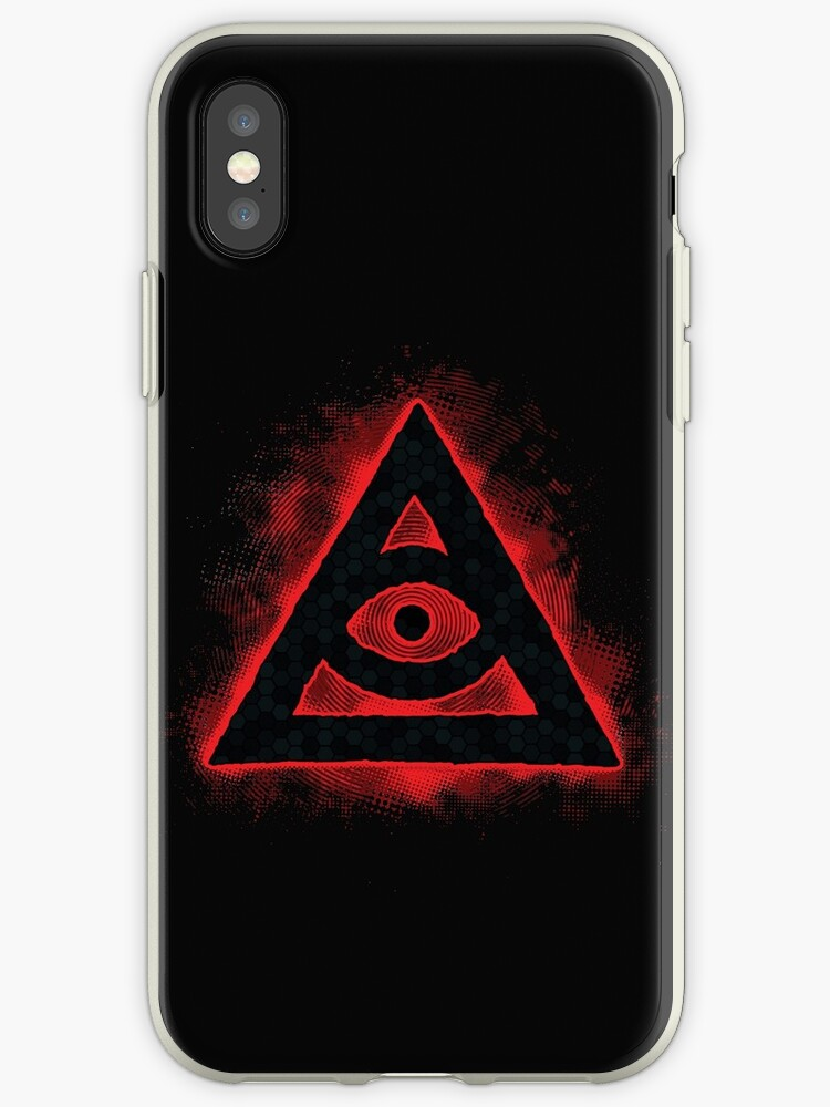 various colors da0eb 4059d 'Order of the Black Pyramid' iPhone Case by saintdevil