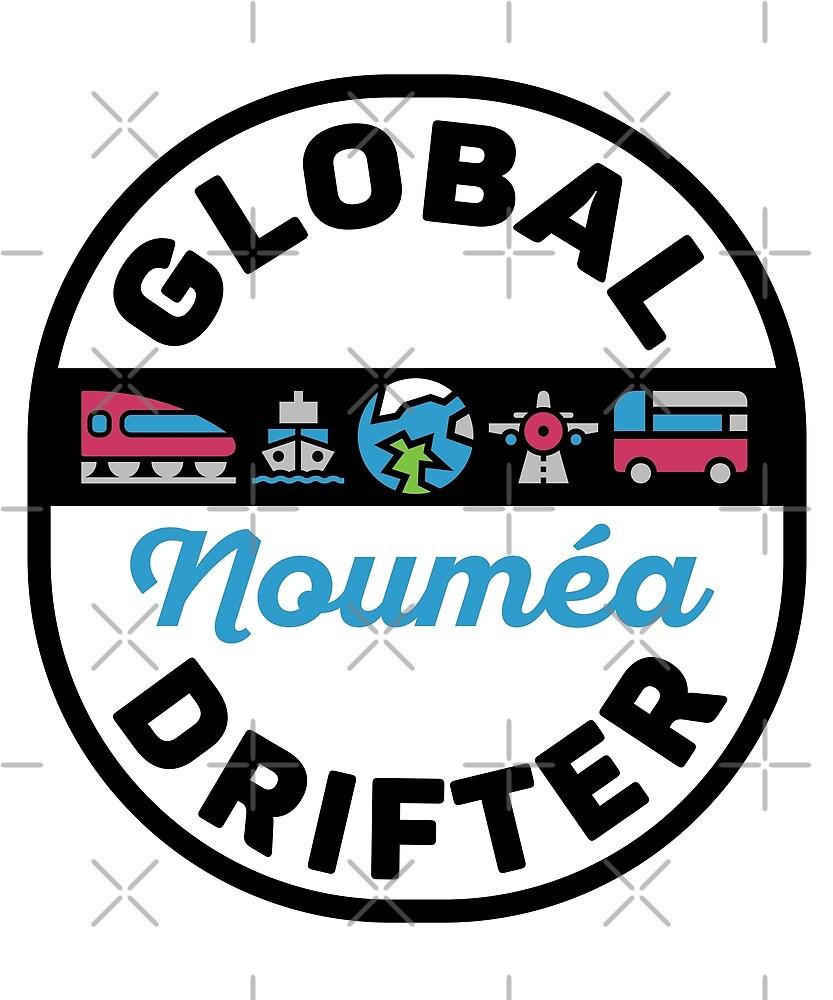 Noumea New Caledonia Global Drifter by designkitsch