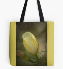 Yellow Flower Bud Tote Bag