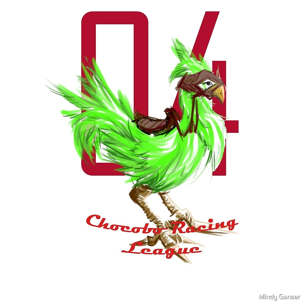 Chocobo Racing - Green Chocobo** Fixed by Mindy Ganser
