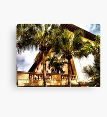 Palms and Coconut Trees Canvas Print