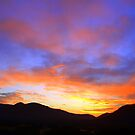 Multicolour sunset by Antionette
