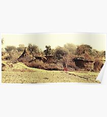 A Village in india. Poster