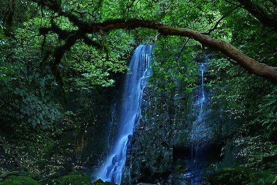 Magical waterfall by Veronica Ek