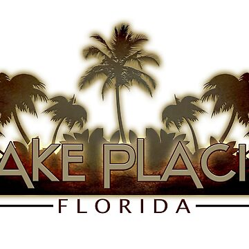 Lake Placid Florida palm tree words by artisticattitud