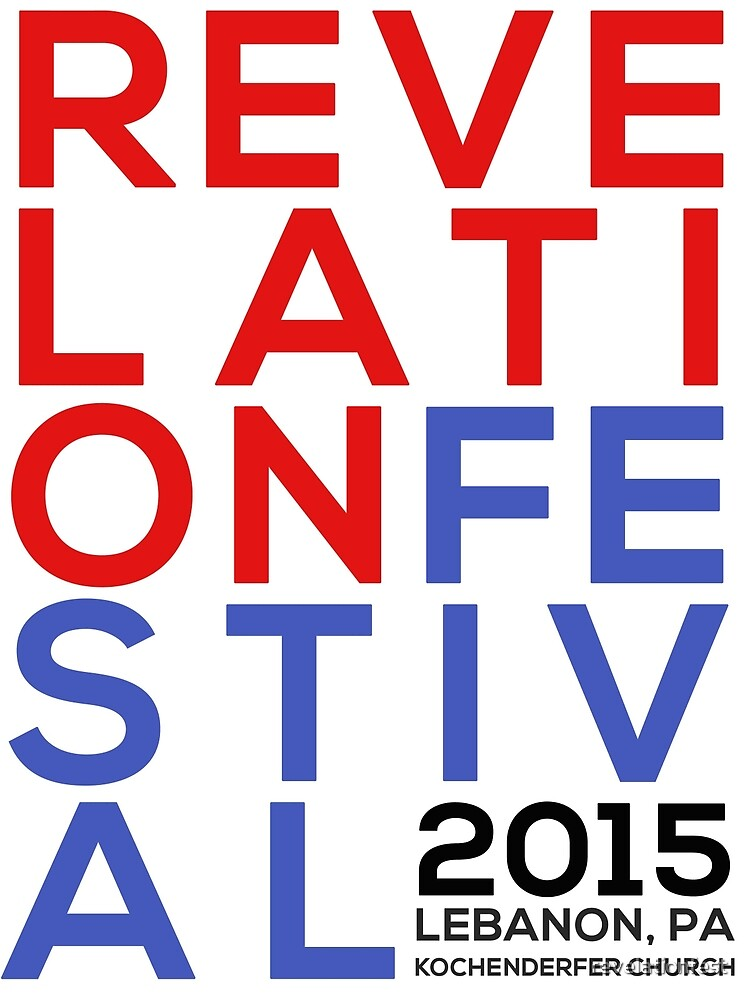 Stacked Words (2015) by revelationfest
