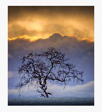 Snowstorm clouds... Photographic Print