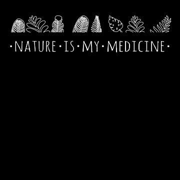 la naturaleza es mi medicina - blanco de FandomizedRose