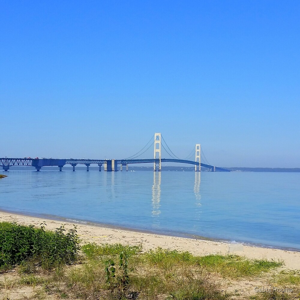 Mackinaw Bridge by Gabbi Roome