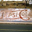 Pepsi Sign, Bisbee, Arizona by Stephen D. Miller