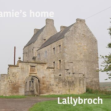 Jamie's home ... at Lallybroch by goldyart