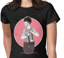 Ian Hecox with Ghibli shirt Womens Fitted T-Shirt