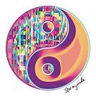 «Glitchy Yin Yang» de STORMYMADE