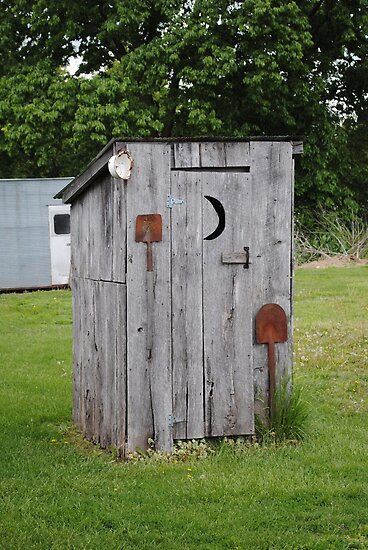 Route 66 OutHouse by R.E Smith