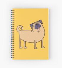 Cuaderno de espiral Vida Pug