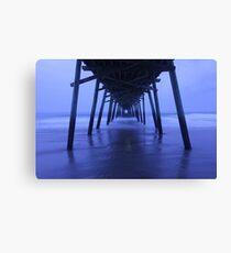 Pier After Dark Canvas Print
