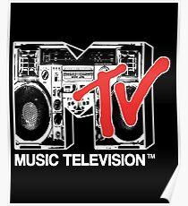 MTV - boombox Poster