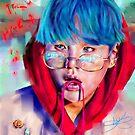 « Suga BTS » par Niji-Ninjart