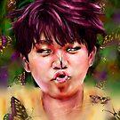 « Jimin Butterfly BTS » par Niji-Ninjart