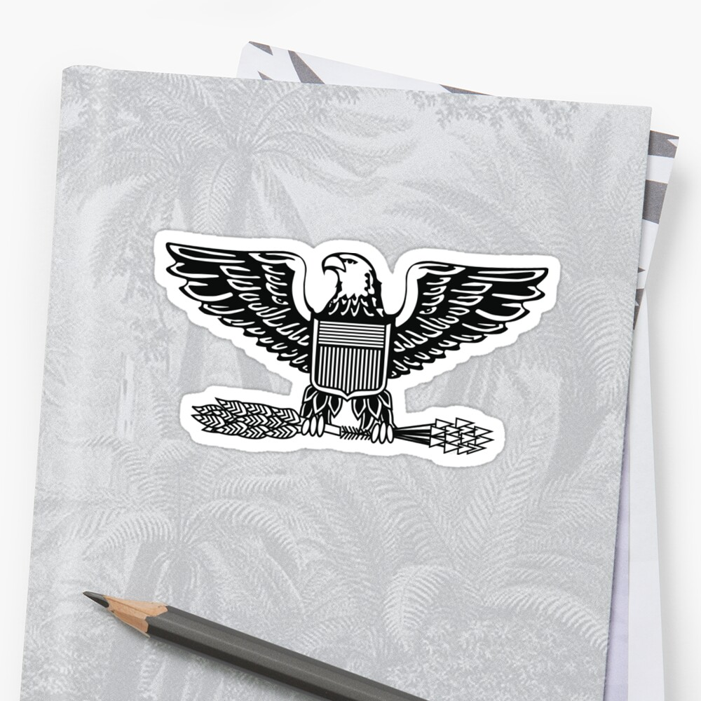 ARMY, Military, Colonel, rank, insignia, United States Army, Air Force,  Marine Corps  | Stickers