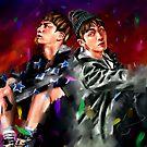 « Jin You never walk alone BTS » par Niji-Ninjart