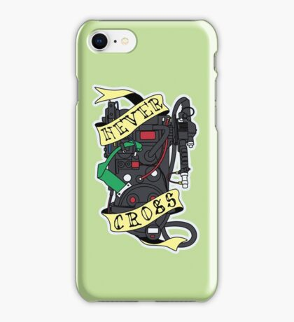 Never Cross iPhone Case/Skin