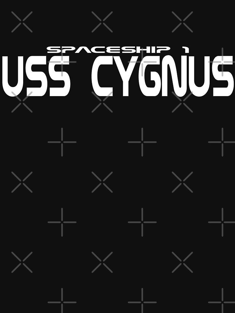 Spaceship 1 - USS CYGNUS von Exilant