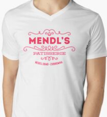 Mendl's Patisserie Mens V-Neck T-Shirt