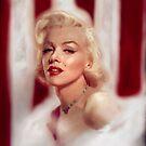 marilyn-monroe women icon by filipesanttana