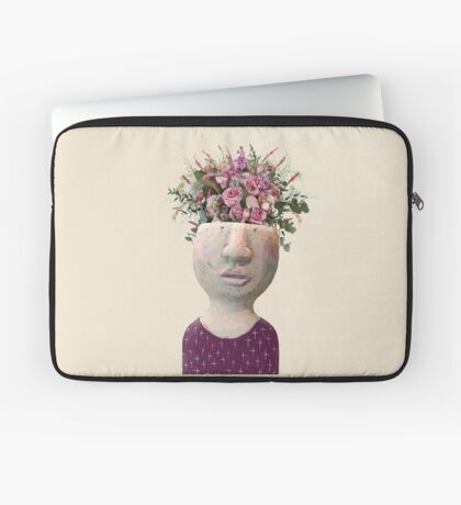 Flower Head Laptop Sleeve