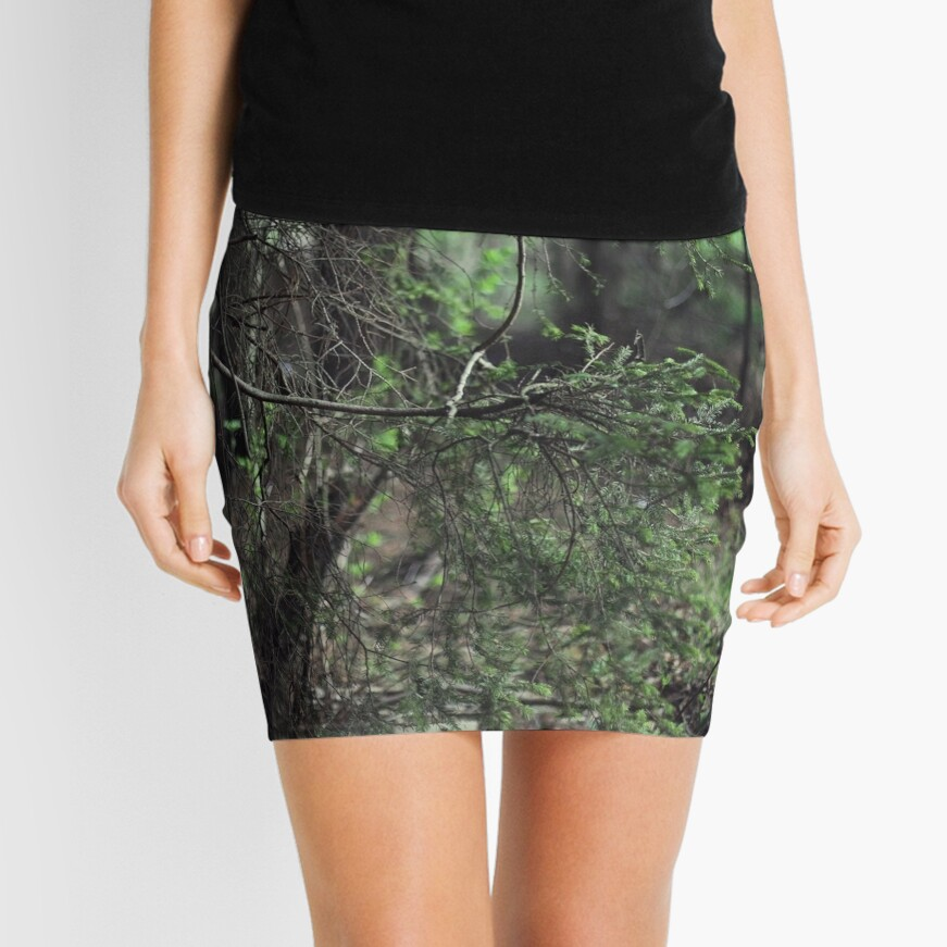 In the forest Mini Skirt Front