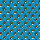 Cute Cowboy Wild West Pattern by TimorousEclectc