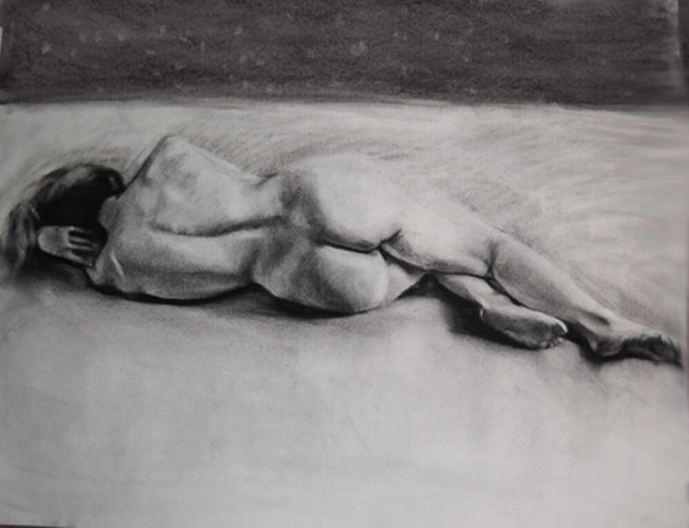 nude study 3 by emmaklingbeil