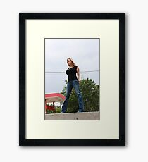 Tough Chick Framed Print