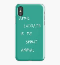 April Ludgate is my spirit animal iPhone Case