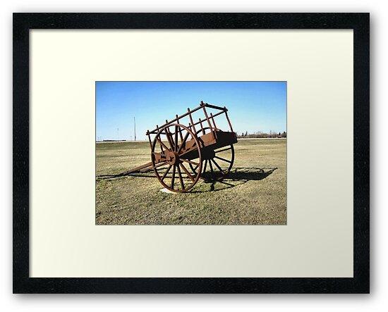 Red River Cart by Leslie van de Ligt