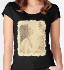 """Butterfly"" by John D Moulton Women's Fitted Scoop T-Shirt"