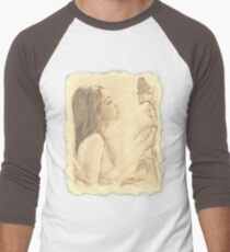"""Butterfly"" by John D Moulton Men's Baseball ¾ T-Shirt"