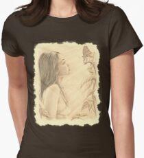 """Butterfly"" by John D Moulton Women's Fitted T-Shirt"