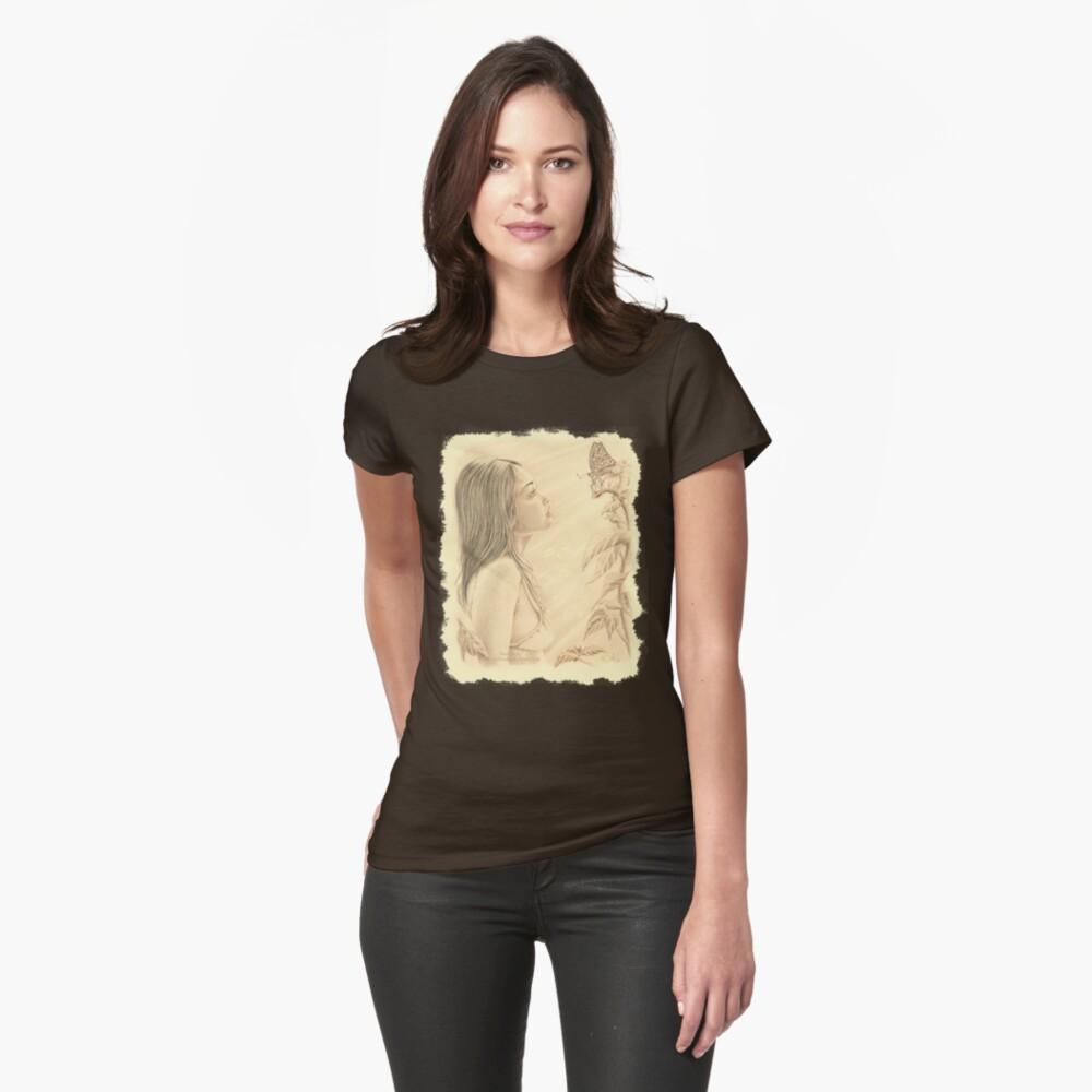 """Butterfly"" by John D Moulton Womens T-Shirt Front"