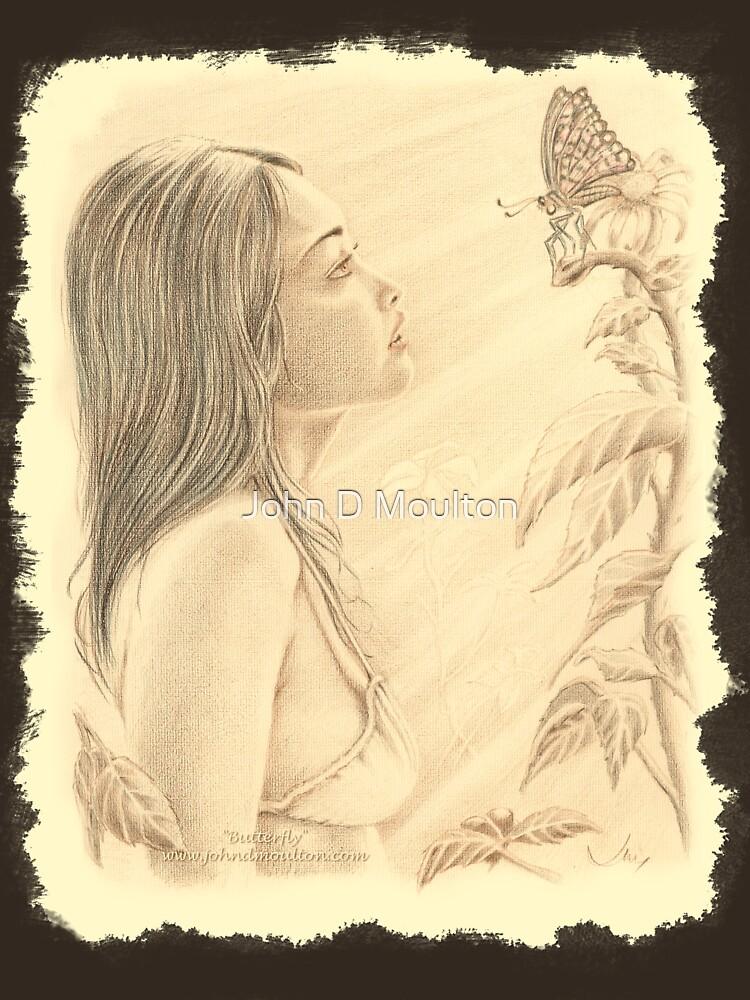 """""""Butterfly"""" by John D Moulton by jdm-art"""