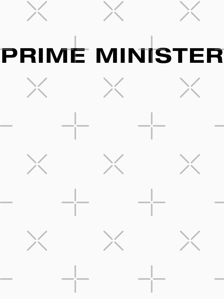 Prime Minister (BlackText) by RoufXis